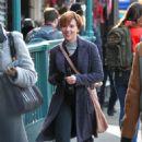 Scarlett Johansson – Filming new film in NY - 454 x 695
