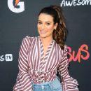 Lea Michele – 'Versus' Premiere Event in Santa Monica - 454 x 682
