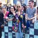 Ashlee Simpson – Visits AOL BUILD Series in New York City