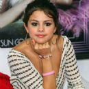 Selena Gomez attended a press conference in Rio De Janeiro, Brazil, February 4