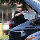 Charlize Theron – Shopping at Bristol Farms in Hollywood - 454 x 681