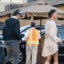 Irina Shayk and Bradley Cooper at Nobu in Los Angeles