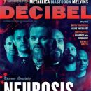 Scott Kelly, Dave Edwardson, Noah Landis - Decibel Magazine Cover [United States] (December 2012)