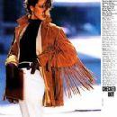 Christy Turlington - Elle Magazine Pictorial [United States] (February 1988) - 231 x 300