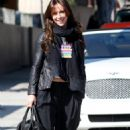 Jennifer Love Hewitt Shopping At Christian Soucoutin store in Beverly Hills In Los Angeles - February 21, 2011