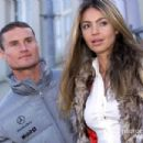 David Coulthard and Simone Abdelnour