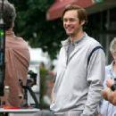 Alexander Skarsgard on Set