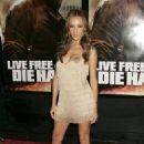 Maggie Q - Live Free Or Die Hard Premiere - NYC (Jun 22 2007)