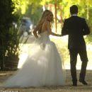 Aaron Paul and Lauren Parsekian Wedding Photos
