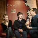 Emma Roberts - 'Homework' speaks at Press Junket at Bing Bar on January 24, 2011 in Park City, Utah