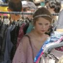Taylor Swift was spotted out at the Fairfax Flea Market in Los Angeles today, August 28