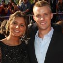 Maya Gabeira and Jesse Spencer