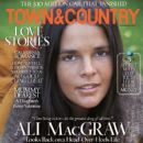 Ali MacGraw - Town & Country Magazine Cover [United States] (February 2012)