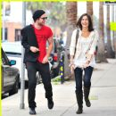 Camilla Belle and Robert Pattinson