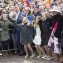 The Dutch Royal Family Attend King's Day - 454 x 442