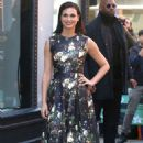Morena Baccarin at AOL Build Speaker Series in New York - 454 x 681