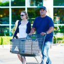 Lily-Rose Depp – Spotted while shopping in LA