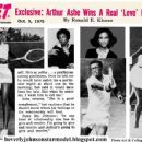 Beverly Johnson and Arthur Ashe - 454 x 351