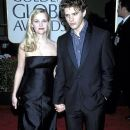Reese Witherspoon and Ryan Phillippe during The 57th Annual Golden Globe Awards - Arrivals (2000)