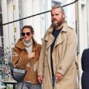 Kara Tointon with husband out in Notting Hill - 454 x 537