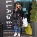 Gemma Atkinson – Leaves the Village Hotel Club in Watford - 454 x 314