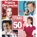 Yves Montand - France-Dimanche Magazine Cover [France] (26 July 2019)