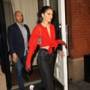 Kendall Jenner – Leaving the Mercer Hotel in NYC - 454 x 681