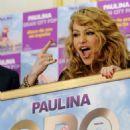 "Paulina Rubio - Receiving Gold And Platinium Status For Her Digital Album ""Gran City Pop"" In Madrid - December 10, 2009"