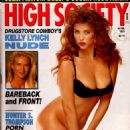 Julia Parton - High Society Magazine [United States] (April 1991)
