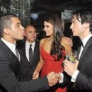 Ian Somerhalder and Nina Dobrev Attended The 63rd Annual Primetime Emmy Awards Governor's Ball (September 18)