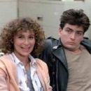 Jennifer Grey and Charlie Sheen