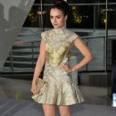 Lily Collins attended the 2012 CFDA Fashion Awards, June 4, at Alice Tully Hall in New York City