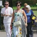 Lily Allen – Wimbledon Tennis Championships 2019 in London - 454 x 663