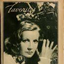 Greta Garbo - Hollywood Magazine Pictorial [United States] (February 1935) - 454 x 604