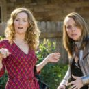 (L-R) LESLIE MANN as Scarlet and NICOLE SULLIVAN as Naomi in New Line Cinema's comedy '17 Again,' a Warner Bros. Pictures release. The film also stars Zac Efron, Thomas Lennon, Michelle Trachtenberg and Matthew Perry. Photo by Chuck Zlotnick - 454 x 303