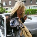 Kate Moss Arrives At A Local Pub In London, 2008-05-20