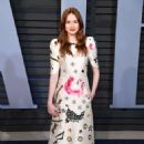 Karen Gillan – 2018 Vanity Fair Oscar Party in Hollywood - 454 x 673