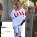 Ashley Tisdale: shopping in Toluca Lake