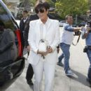 Kris Jenner attending Ciara's baby shower in West Hollywood, California on March 22, 2014