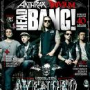 Arin Ilejay, M. Shadows, Synyster Gates, Johnny Christ, Zacky Vengeance - Headbang Magazine Cover [Turkey] (September 2013)