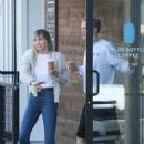 Miley Cyrus – Out for a coffee at Blue Bottle Coffee in Studio City