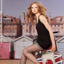 Jandra Dziaugyte Burlington Women Legwear collection (Spring/Summer 2012) - 454 x 629