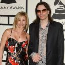 Steve Vai and Pia Maiocco at 50th Annual GRAMMY Awards.Staples Center, Los Angeles, CA.February 10, 2008. - 432 x 594
