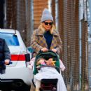 Hilary Duff – Family Stroll candids in New York City