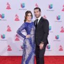 Martín Fuentes and Jacqueline Bracamontes- 16th Latin GRAMMY Awards- Red Carpet