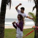 Caio Castro and Gabriella Grecco