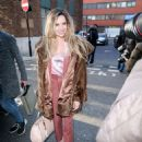 Nadine Coyle – Arriving at the AOL Building in London - 454 x 619