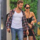 Nikki Bella and fiance Artem Chigvintsev – Visit a personal trainer in Beverly Hills - 454 x 690