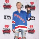 Justin Bieber, winner of the awards for Best Male Artist and Dance Song of the Year ('Where Are U Now