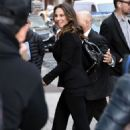 Kate del Castillo Arriving to Appear on Good Morning America in NYC 4/12/2017 - 454 x 679